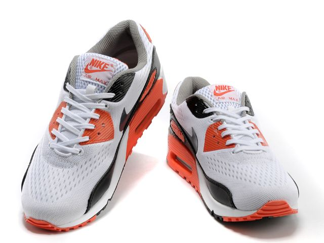 Nike Air Max 90 EM Mens Black White Orange £79.99