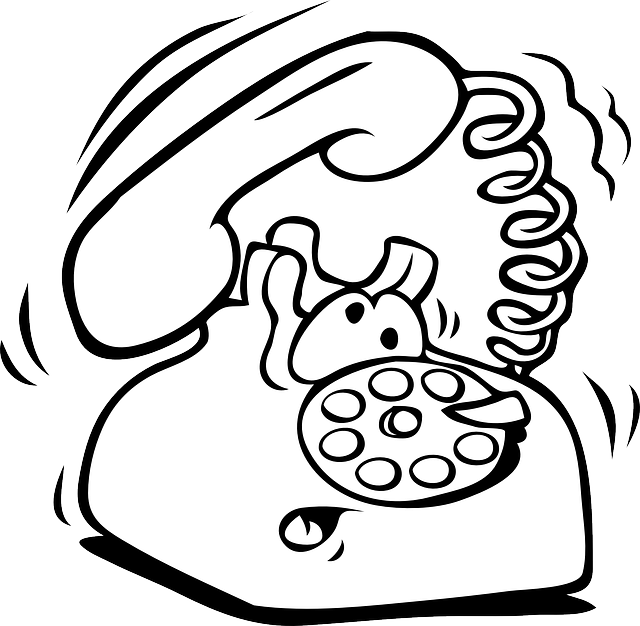 Free Image On Pixabay Phone Comic Ringing Cartoon Animation Sketches Printable Pictures Coloring Pages