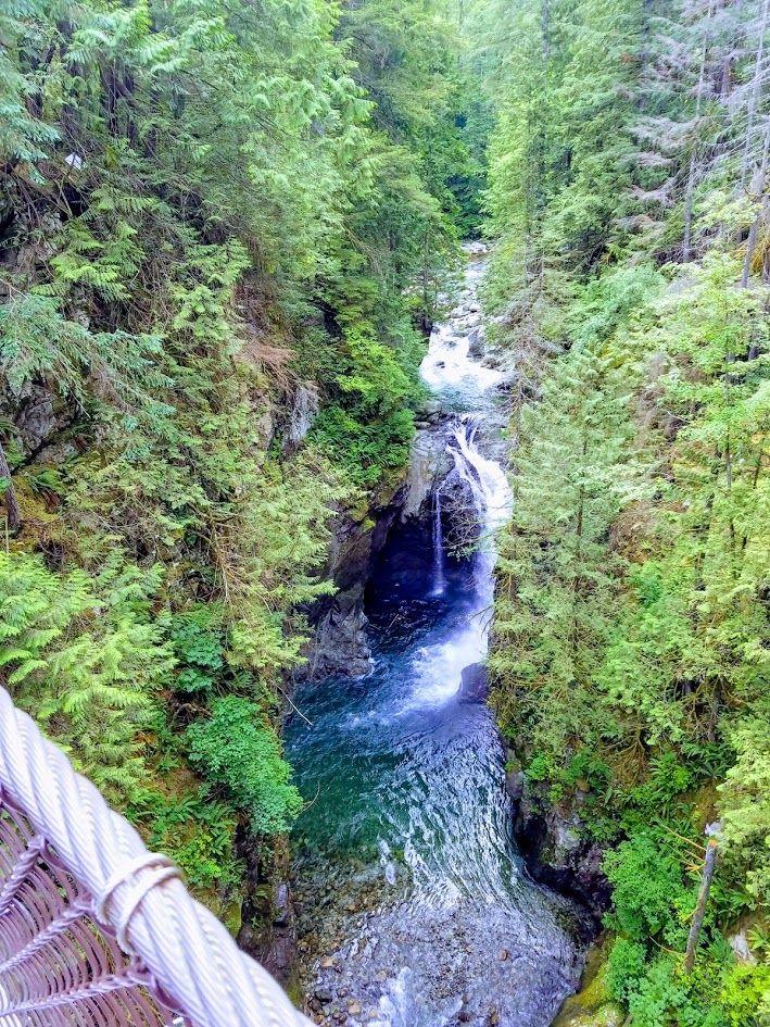 Lynn Canyon, Victoria, BC Lynn canyon, Outdoor, Waterfall