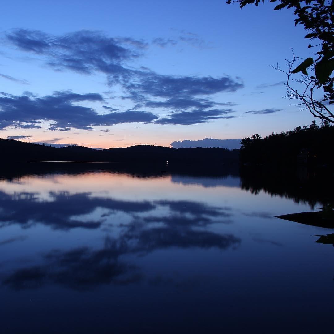 New Hampshire Horizon Newhampshire Lake Water Reflection Clouds Sunset Beauty Nature Photography Photogra Landscape Photography Landscape Photography