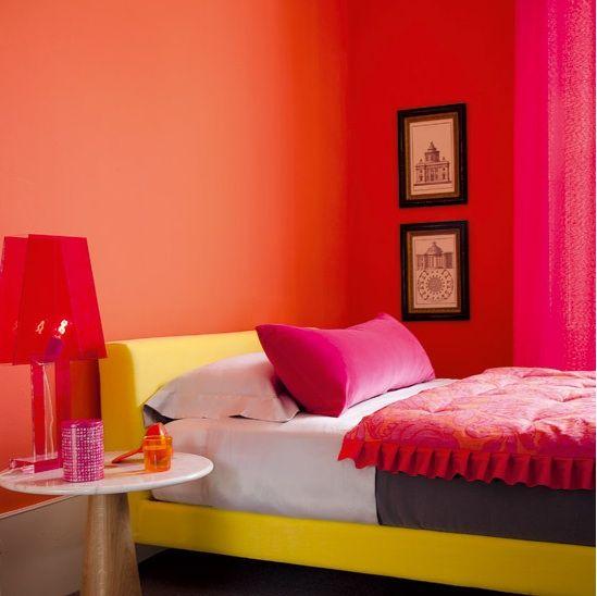 Angie S List Small Bedroom Colours Bedroom Colors Bedroom Design Bright orange bedroom ideas