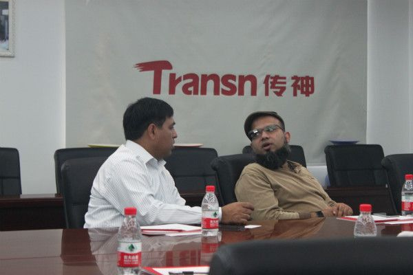 CEO of tradekey com, Mr Junaid Mansoor and Marketing and Sales