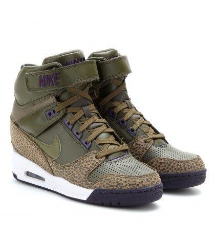 Nike - Nike Air Revolution Sky Hi wedge sneakers -