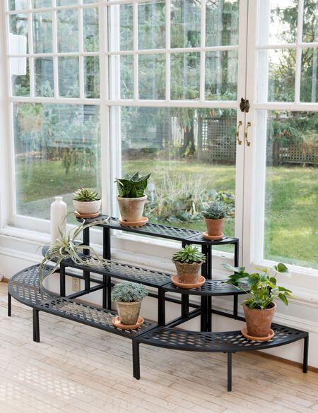 Lattice Plant Stand Set -   19 diy Interieur plants ideas