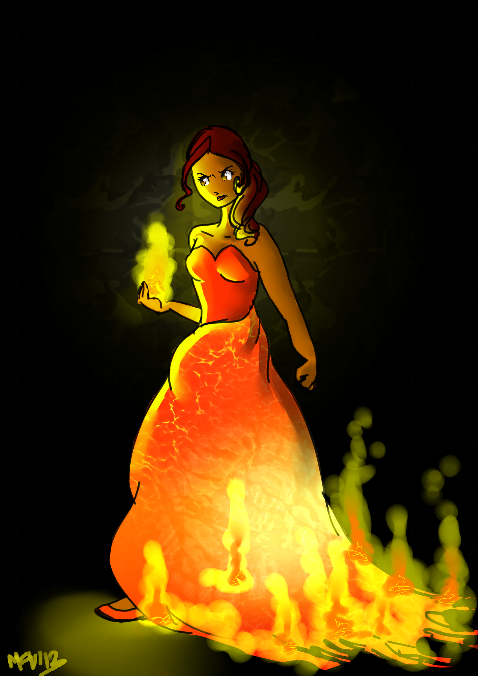 Don't play with fire by =Martafav on deviantART Hunger