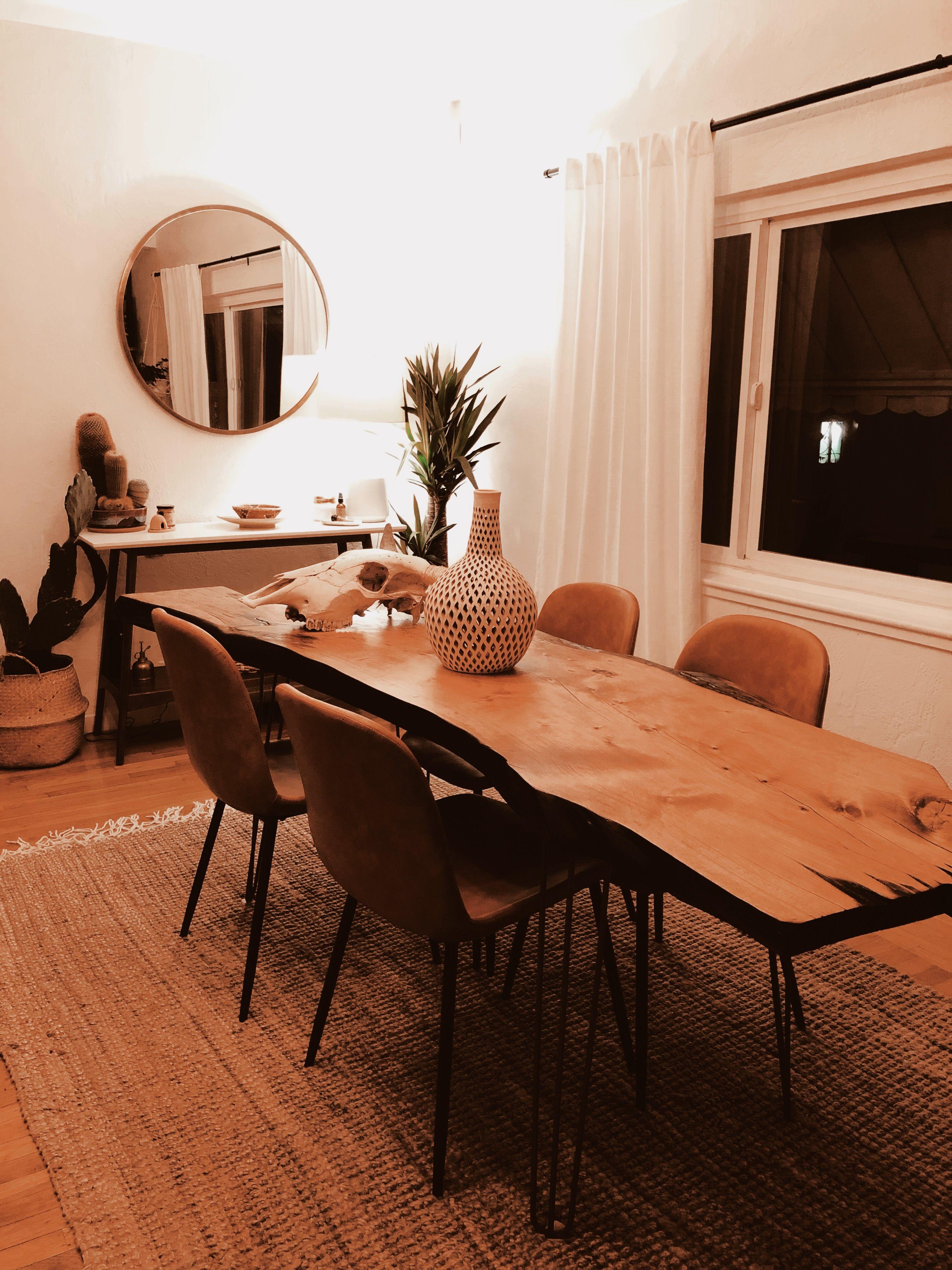 Live Edge Dining Table Allmodern