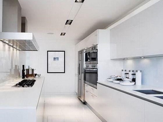 cocina blanca | Cocinas | Pinterest | Cocina blanca, Blanco y Cocinas