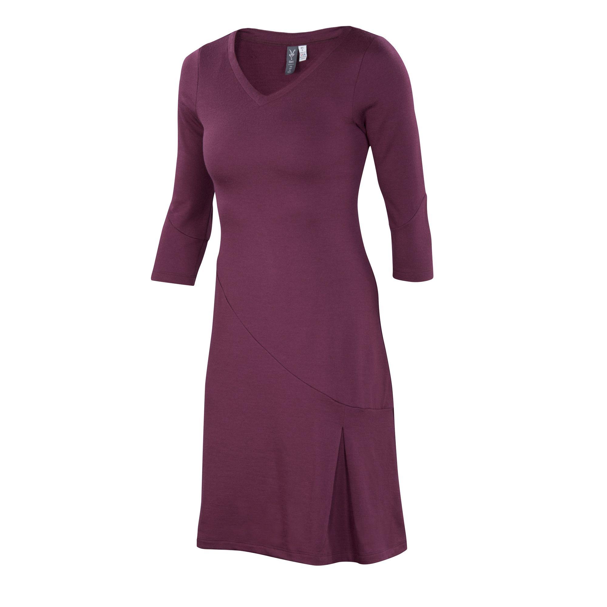 Mid-weight Merino French terry dress