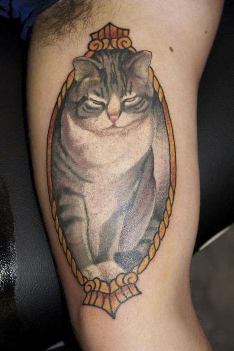 Tattoo Cat.