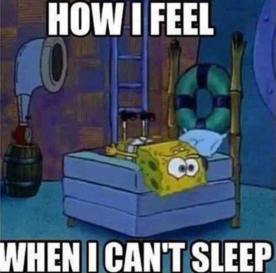 Can't sleep | Spongebob | Pinterest | Spongebob