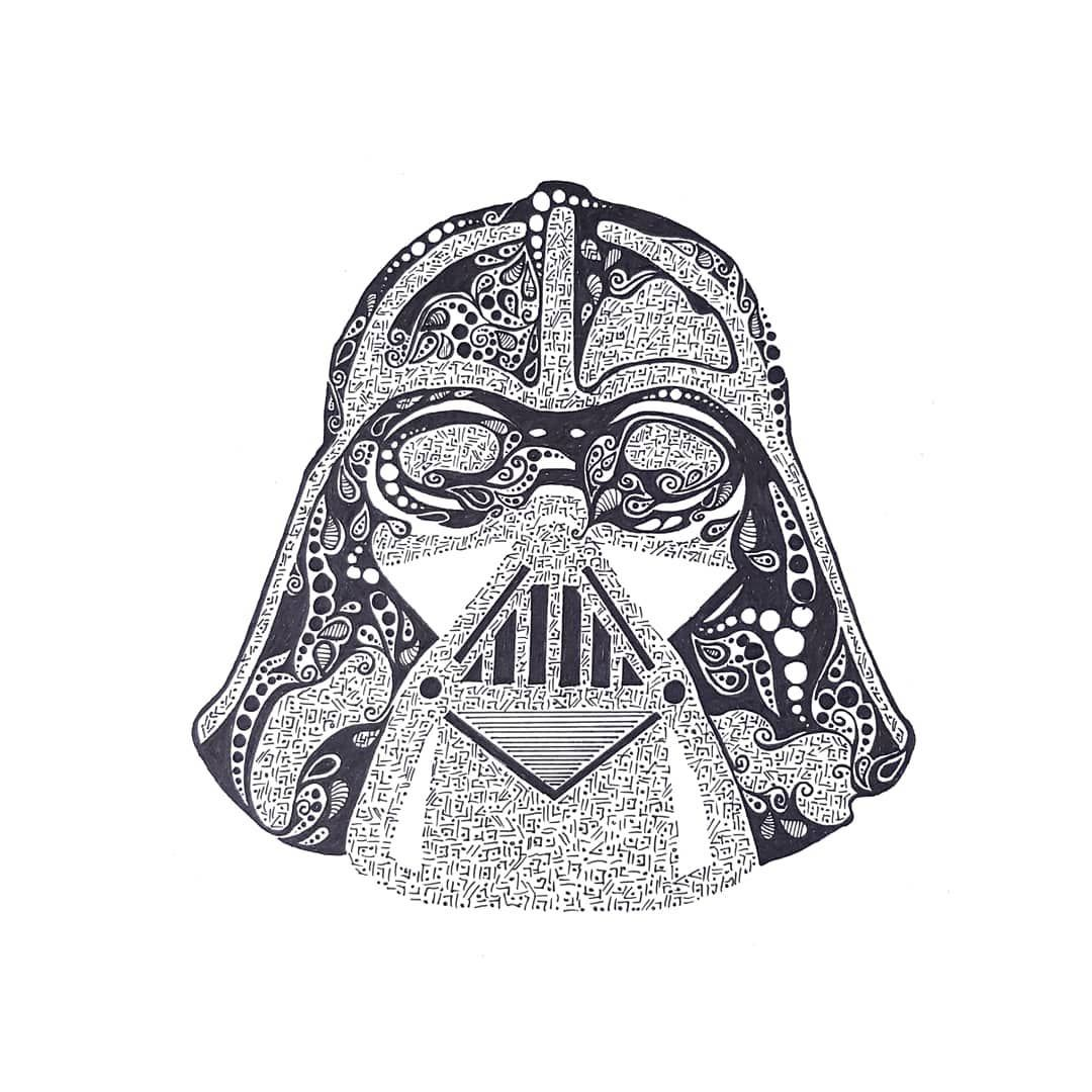May the 4th Be with you Black canvas art, Star wars art