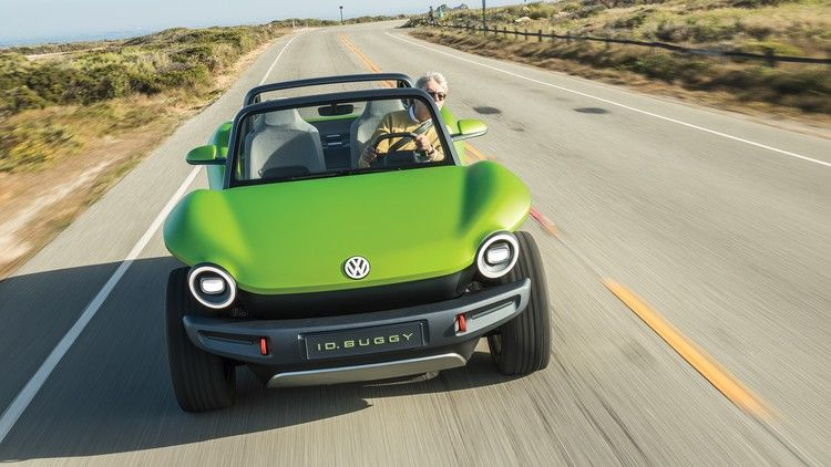 Volkswagen Id Buggy Review We Drive The Electric Beach Buggy Beach Buggy Electric Beach Volkswagen