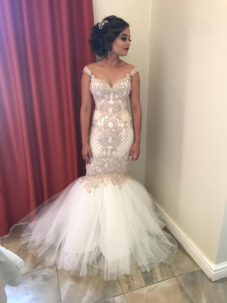 29++ Taupe wedding dress lace info