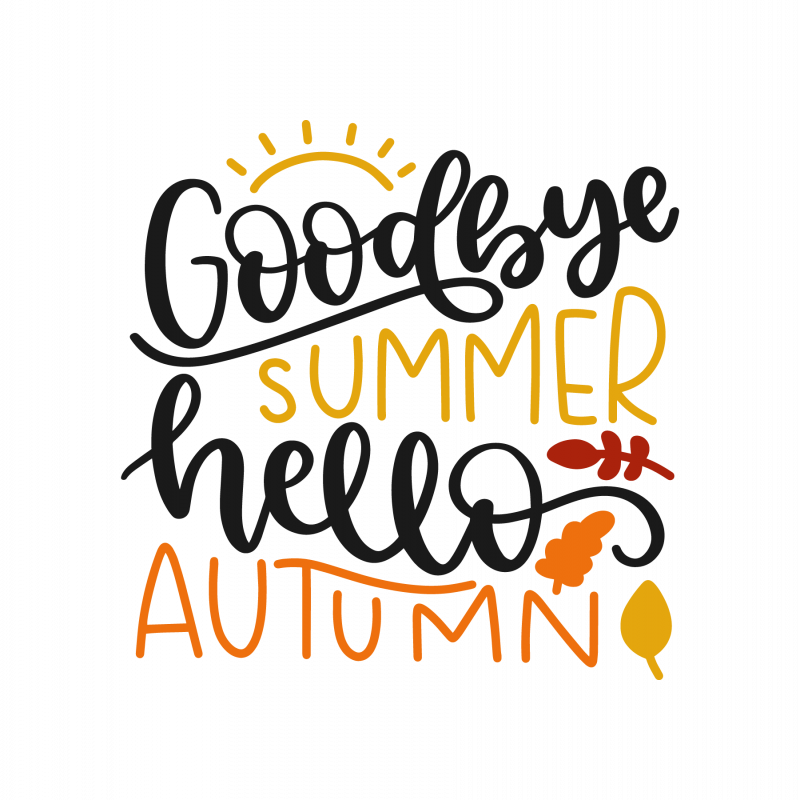 Goodbye summer hello autumn 7490 free svg svg files for