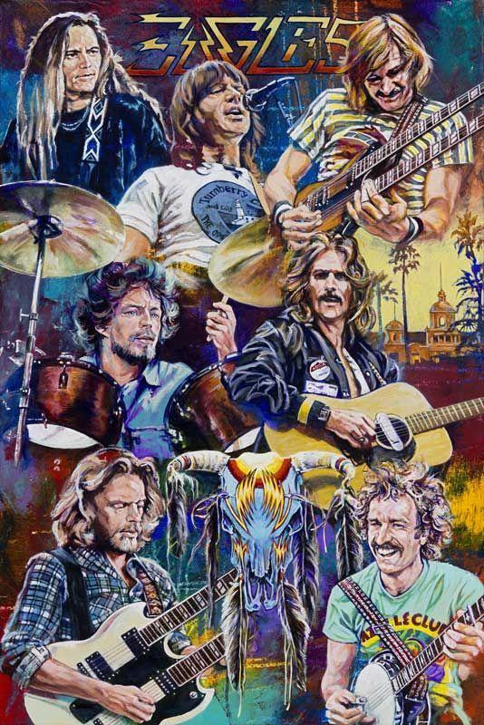 Eagles Eagles Music Rock Band Posters Eagles Band
