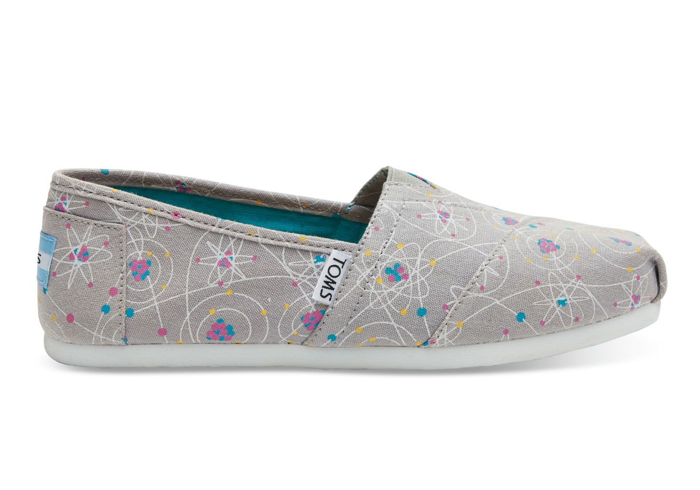 4fd46d17e8fd 54$ toms.com fun design undefined Grey Atoms Women's Classics ...