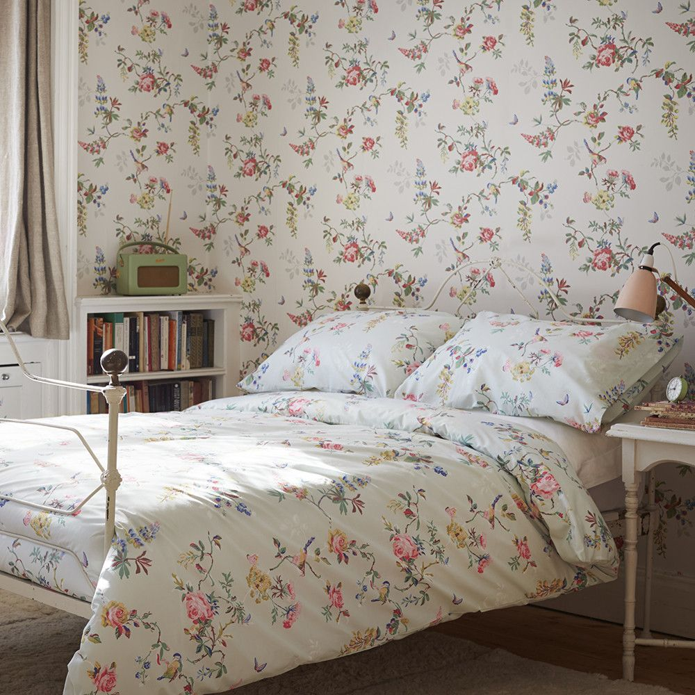 Bedroom Decorating Ideas Cath Kidston infuse your bedroom with the soothing florals of the birds and