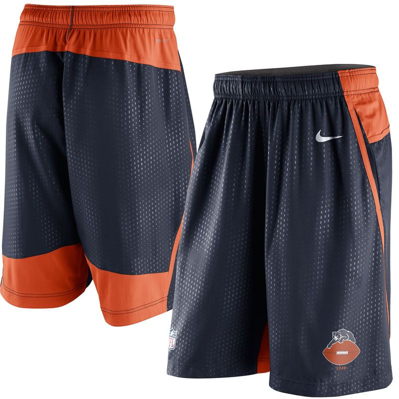 Nike Chicago Bears Alt Fly XL 3.0 Performance Shorts - Navy ... 047b841bc