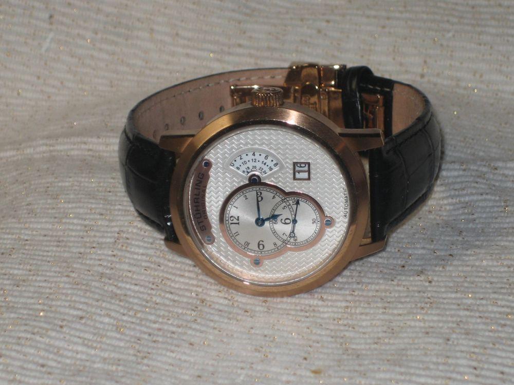 Stuhrling Original St 9012m Automatic Men S Wristwatch Watches
