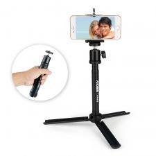 2-in-1 Extendable Selfie Stick with Mini Tripod Stand Kit for Smartphone camera