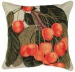 Needlepoint  - Helene Verin 14 Orange Cherries Pillow