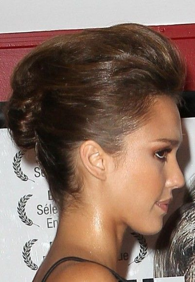 Cute bridesmaid hairstyle hairstyles fashion pinterest jessica and updo today id like to share with you jessica albas updo hairstyle that she used to wear at different events as you see actress jessica pmusecretfo Image collections