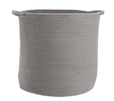 Sloane Cotton Rope Toy Dump Heathered Gray Cotton Rope