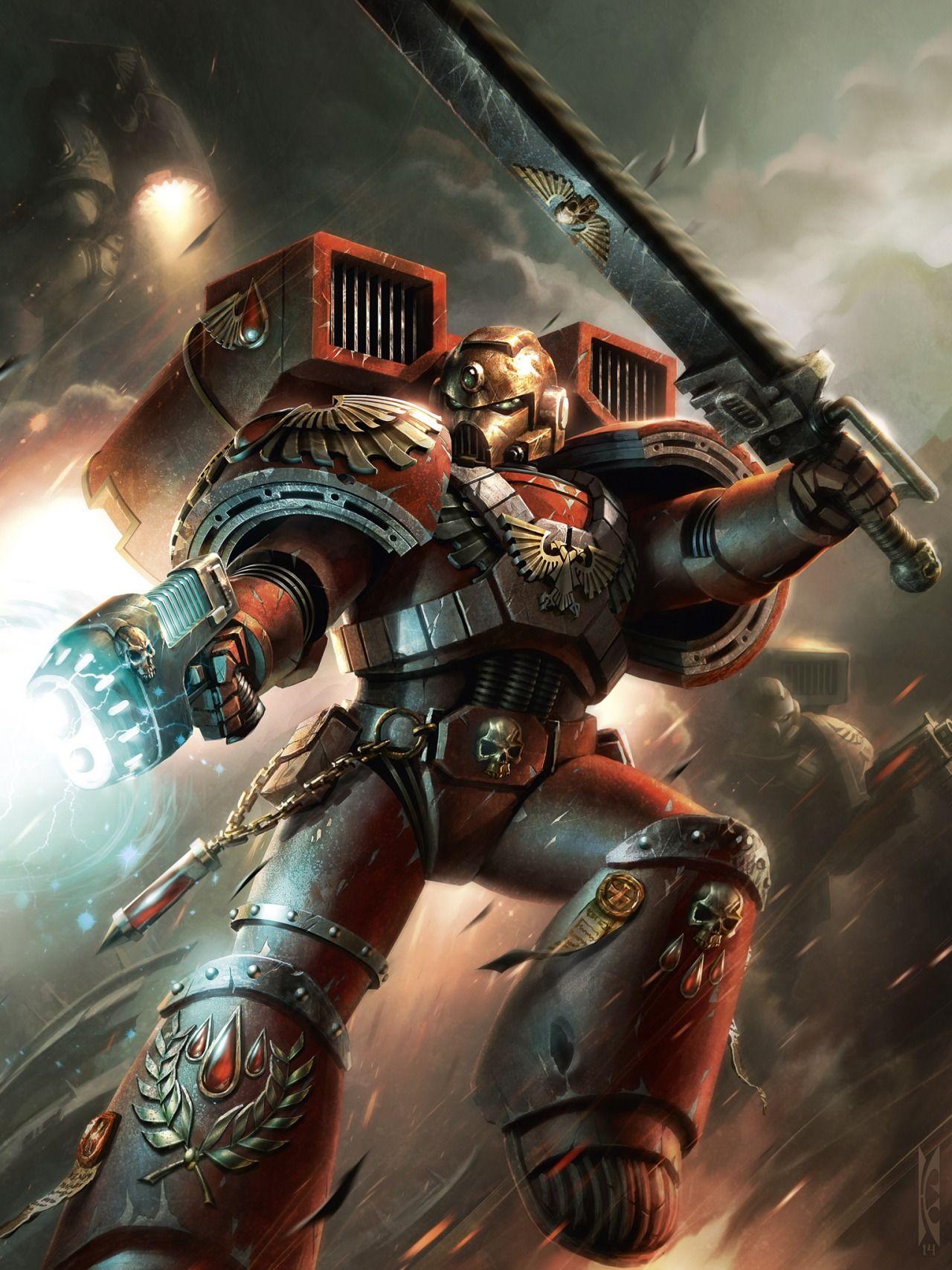 Warhammer 40k death company wallpaper - Fond Ecran Hd Wallpaper 540 Warhammer 40000warhammer Artspace Marinewarhammer 40k Blood Angelsspace