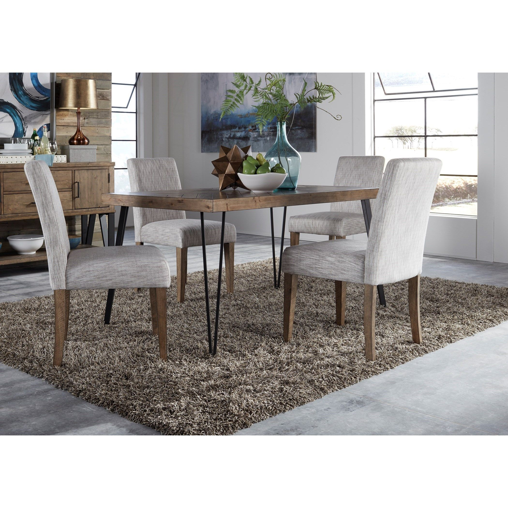 The Oaks Apartments Jackson Michigan: Liberty Furniture Horizons Contemporary Dining Table And