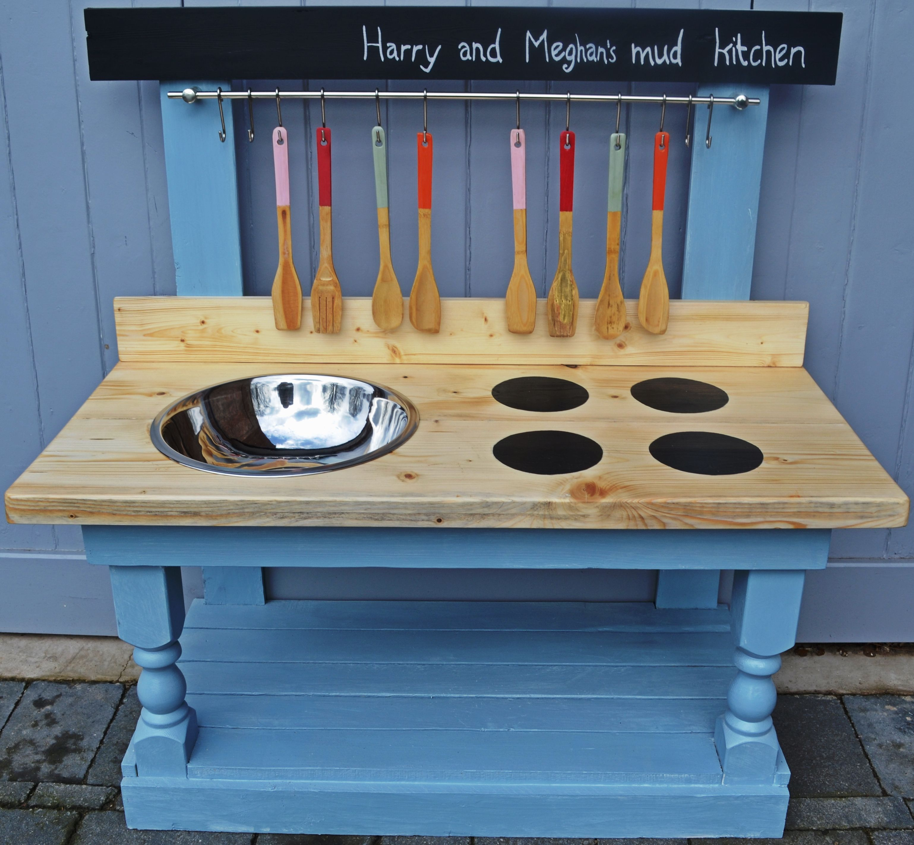 mud kitchen cooker rings