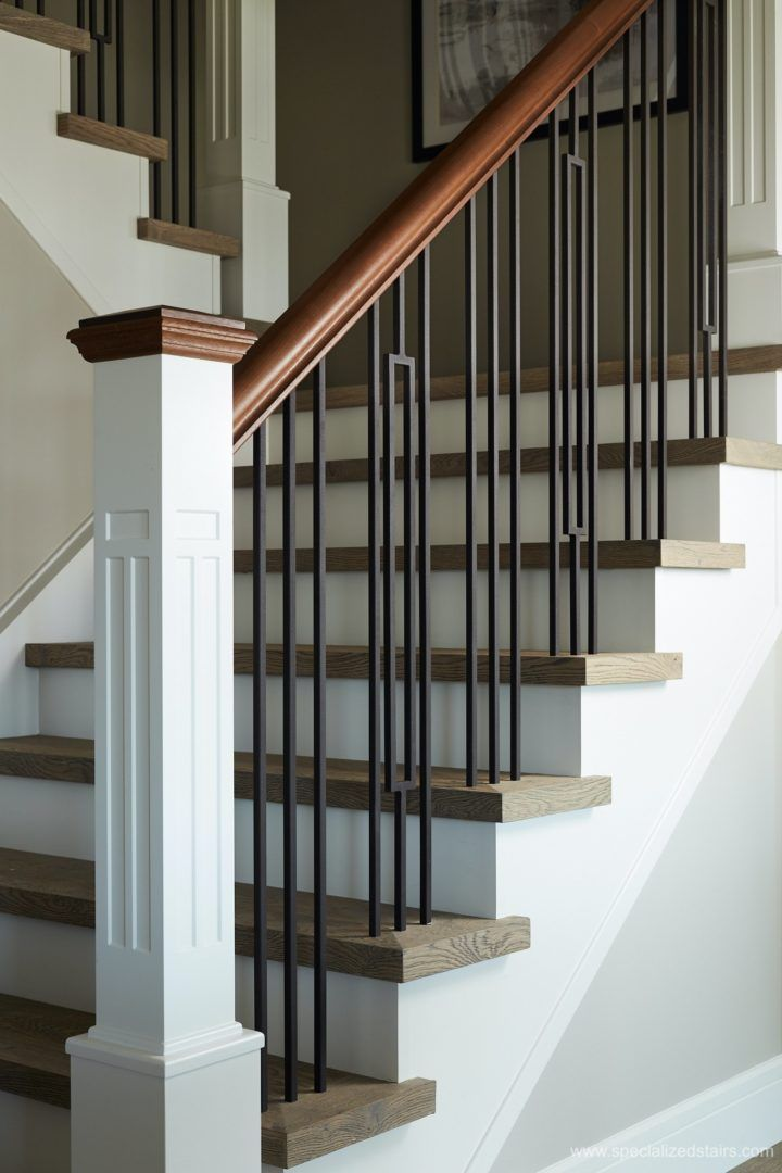 Best Closed Rise Eastern Flare In 2020 Stair Railing Design 640 x 480