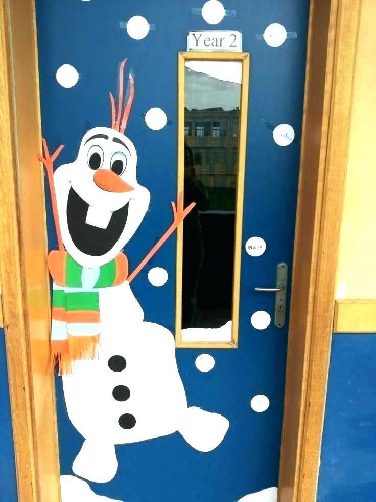 Decorar La Puerta De Tu Clase O Sal 243 N En Navidad 101 Ideas