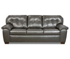 Simmons Mason Charcoal Sofa Charcoal Sofa Leather Couches Living Room Sofa