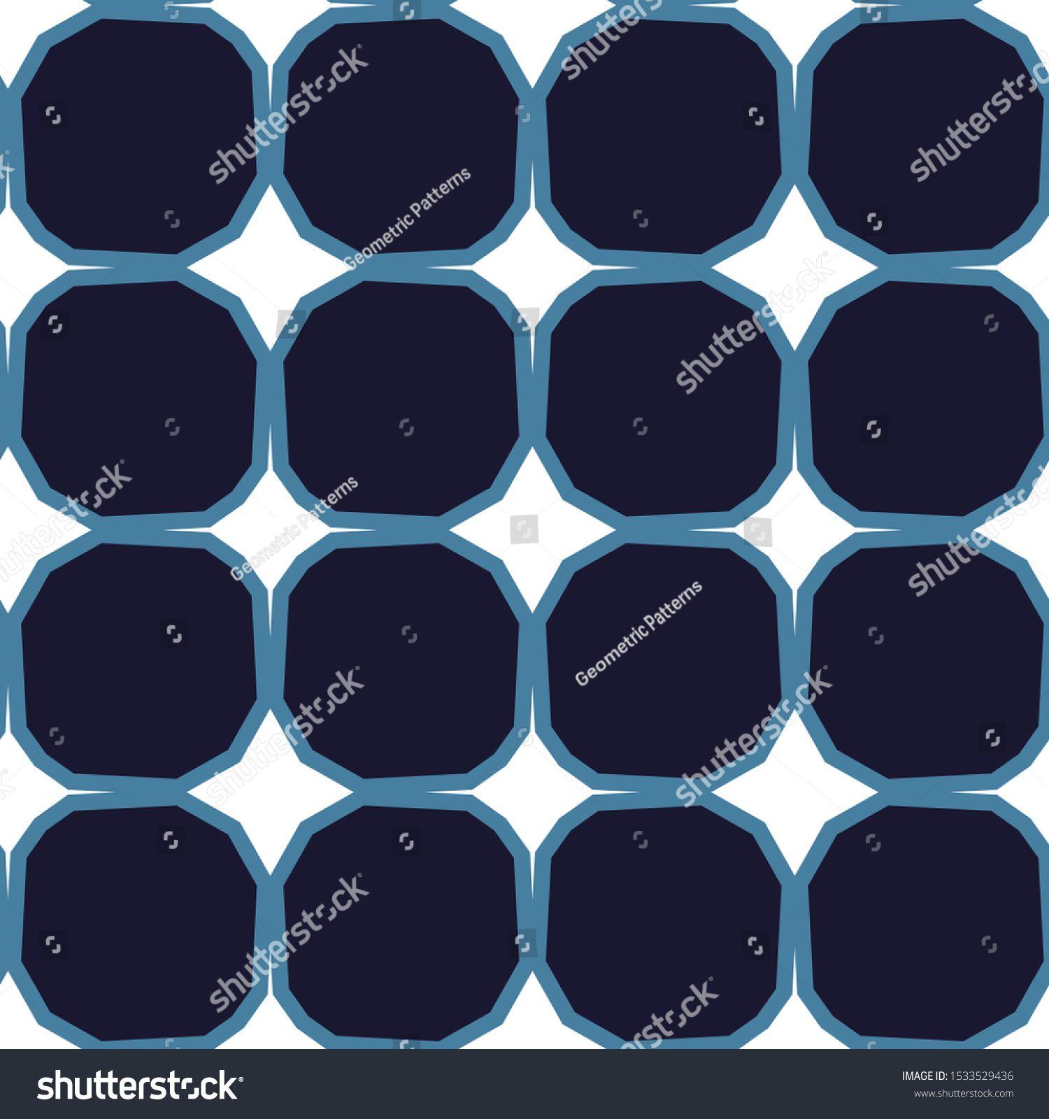 Geometric ornamental vector pattern Seamless design texture