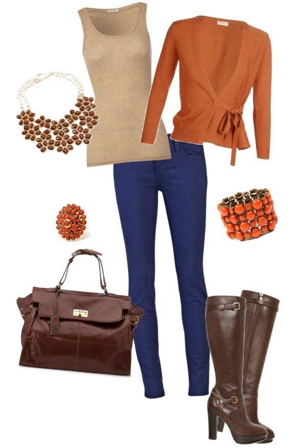 Winter Outfit Combination Idea http://imgsnpics.com/winter-outfit-combination-idea-7/