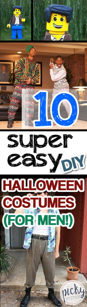 10 Super Easy DIY Halloween Costumes (for Men Holidays, Holiday - super easy halloween costume ideas