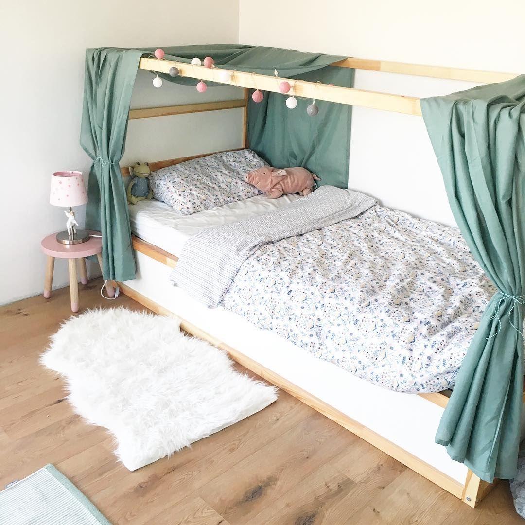 Lauras Heiss Geliebtes Hohlenbett Und Ich Liebe Das Kura Bett Auch Schlicht Vielfaltig Flexibel Und Es Ladt Einfac In 2020 Big Kids Room Ikea Loft Bed Girl Room
