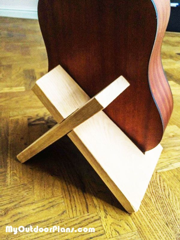 Top 10 Easy Woodworking Projects To Make And Sell Guitar Stand