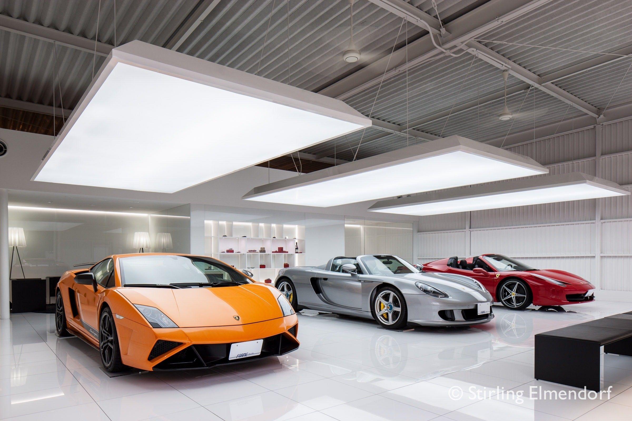 Design Fresco Forme Performance Car Shop And Tuning Picture Gallery Car Shop Garage Design Interior Car Showroom Design