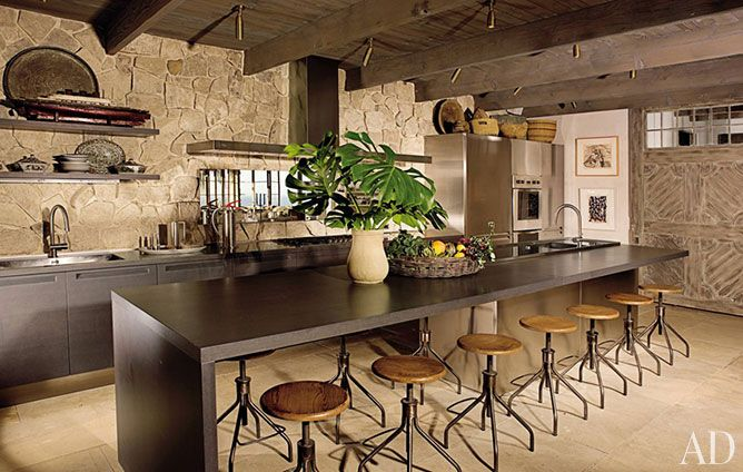 29 Rustic Kitchen Ideas You\u0027ll Want to Copy Stone walls, Ceilings