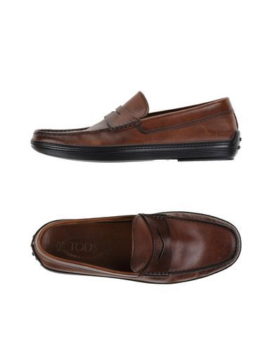 TOD'S Men's Loafer Khaki 8.5 US