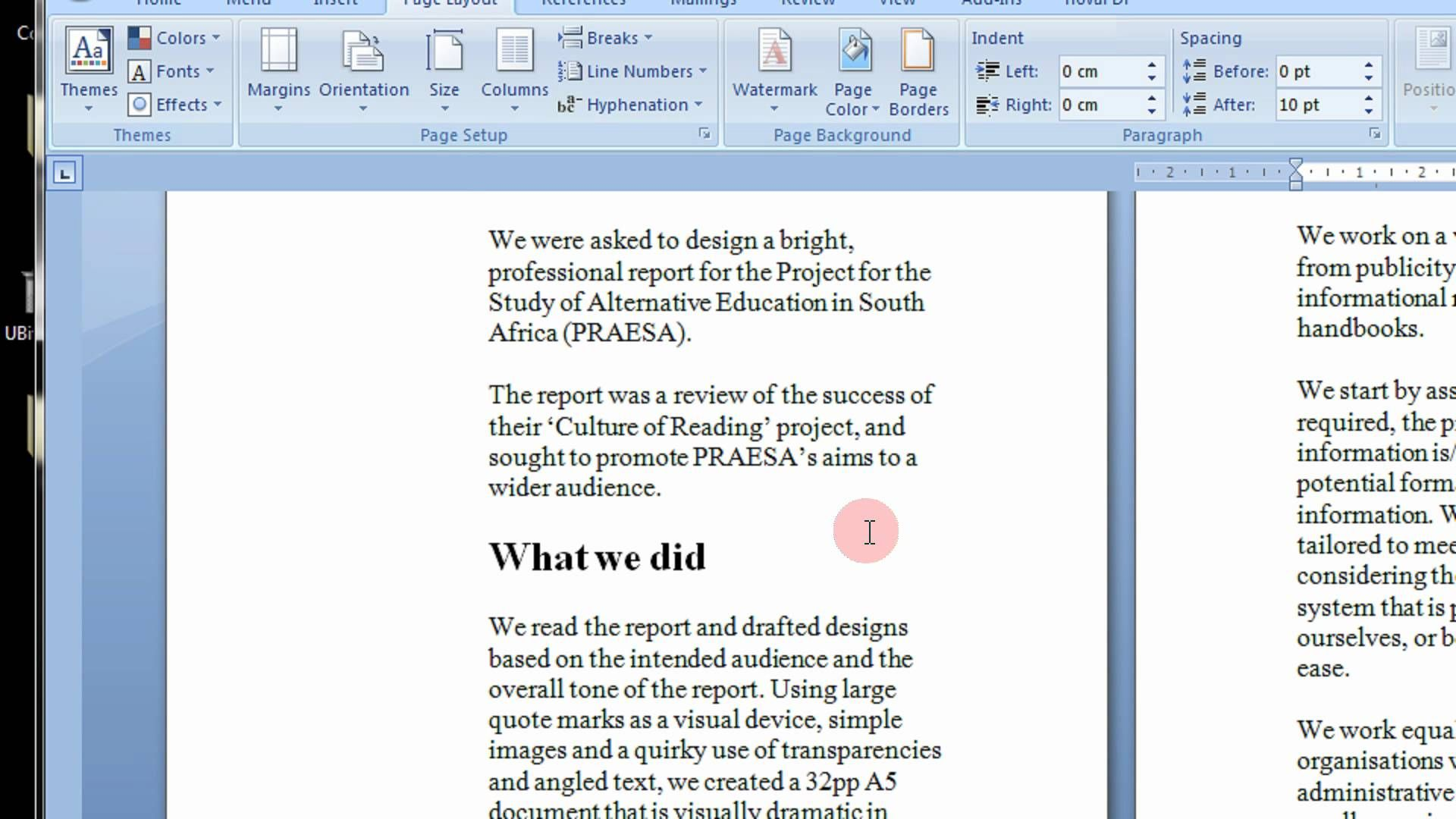 How To Create Printable Booklets in Microsoft Word 2007