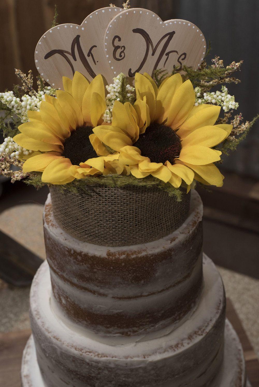 Sunflower wedding rustic wedding sunflower bouquet outdoor