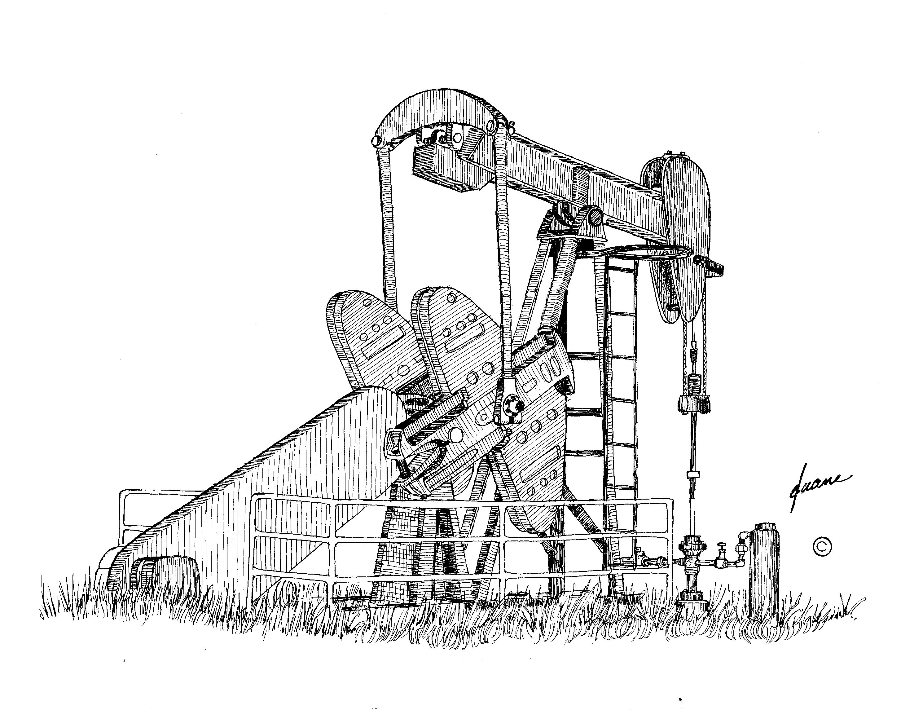 Oil Pump Jack With Images
