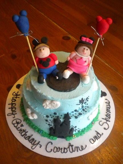 Walt Disney World Cake Childrens Birthday Cakes