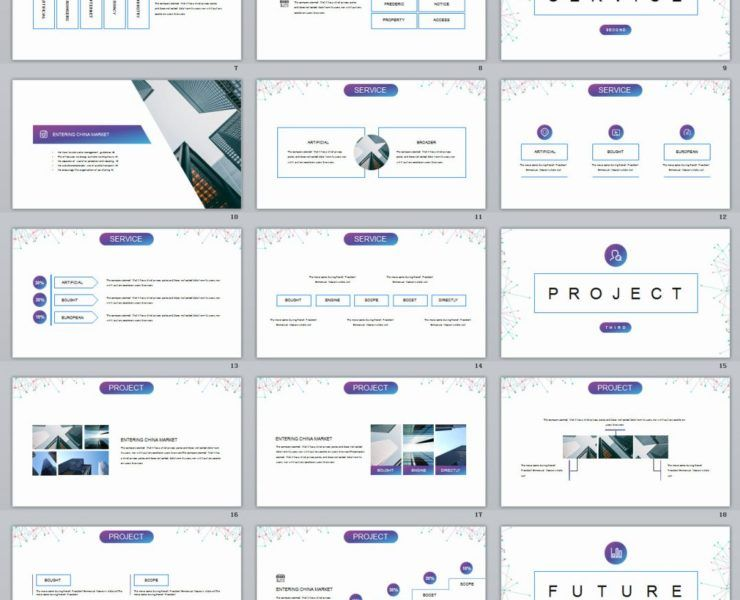 40+ White Business plan PowerPoint Template Business