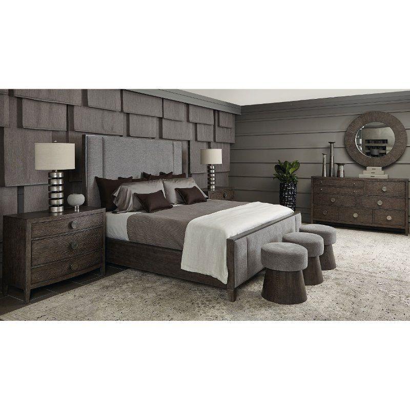 Rustic Modern Charcoal 4 Piece King Bedroom Set Linea Bedroom Sets Queen King Bedroom Sets Modern Bedroom Furniture