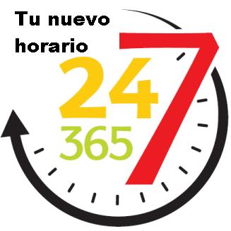 24*7*365 Estas son las condiciones que muchas personas están para permanecer en su puesto de trabajo. Pero hay otra alternativa al alcance de todos en este momento. http://blog.miguelynievesv.com/blog/247365