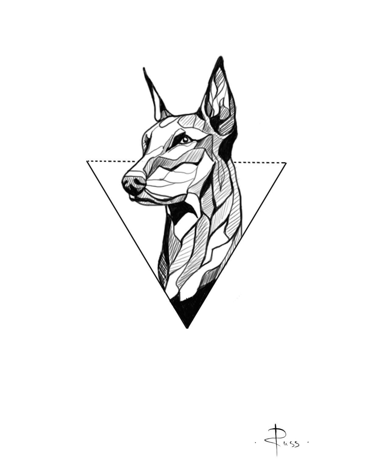 sketch fo tattoo by RUSS --- linework --- dog -  sketch fo tattoo by RUSS — linework — dog The Effective Pictures We Offer You About finger tatt - #compasstattoo #cooltattoo #Dog #dogtattoo #linework #RUSS #Sketch #tattoo #tattooideen #treetattoo