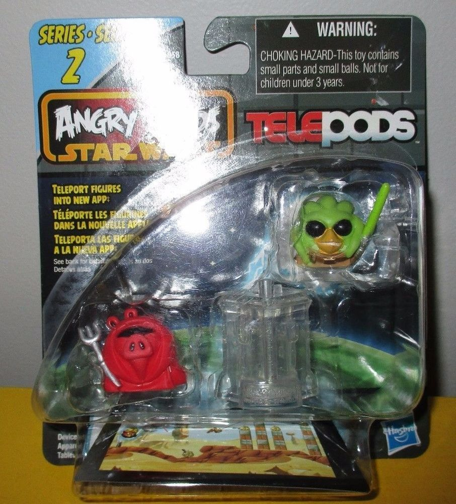 Star Wars Angry Birds Telepods Series 2 Emperor S Royal Guard Pig